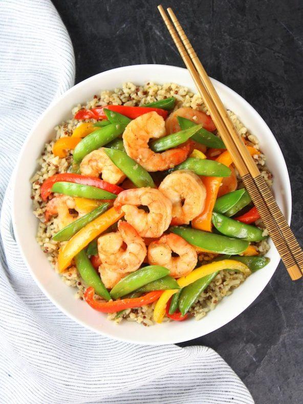 Recipe of the Week: Garlic Pepper Shrimp Stir Fry