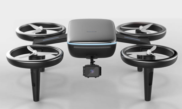 Volt Is a Drone That Charges Your Electric Car