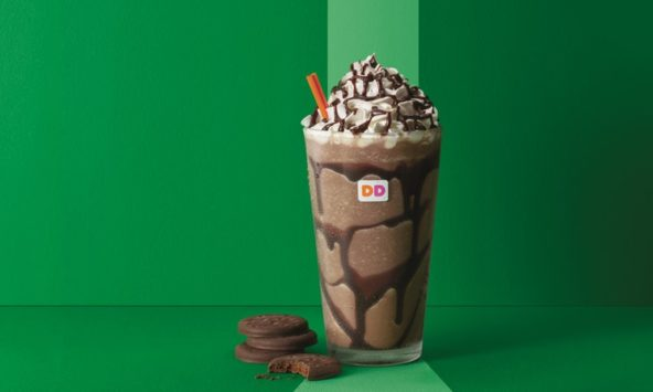 Dunkin' Donuts' Is Dropping Girl Scout Cookie Coffee Flavors On Us