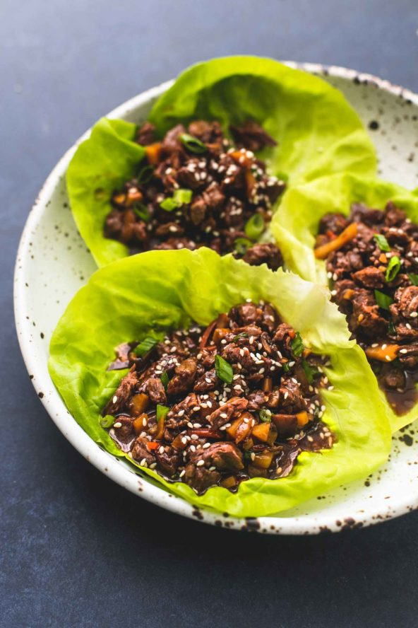 Recipe of the Week: Honey Beef Lettuce Wraps