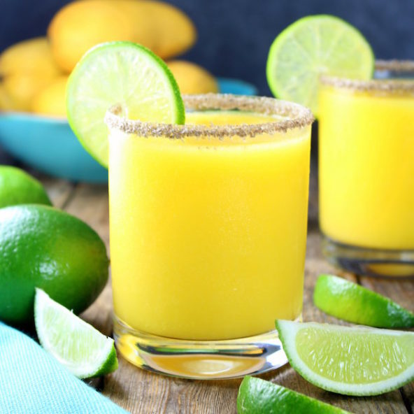 Thirsty Thursday: Smoky Mango Margarita Recipe