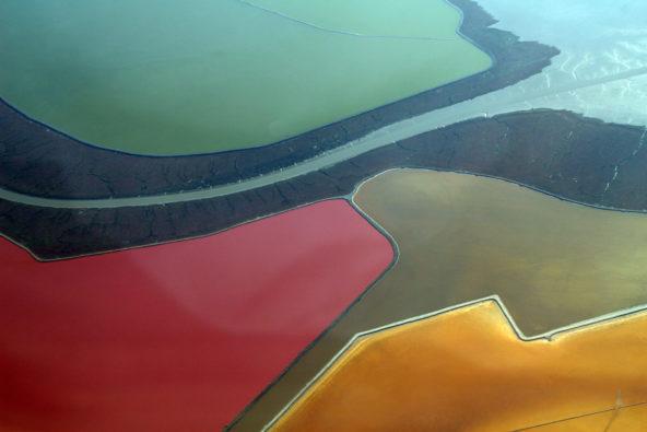 The Salt Ponds of San Francisco Bay