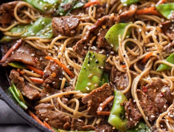Recipe of the Week: Sesame Garlic Beef Stir Fry