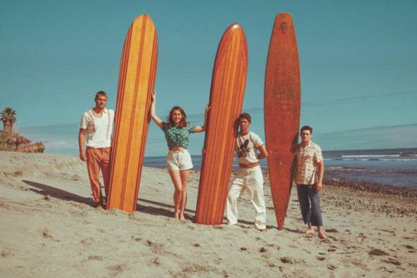 Levi's Vintage Clothing Is All About 1940s West Coast Surf Culture This Spring