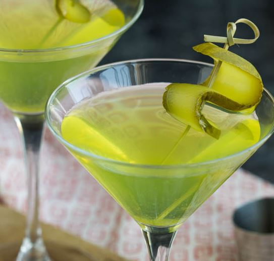 Thirsty Thursday: Dill Pickle Vodka Martini