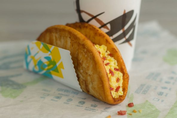 Taco Bell Introduces the French Toast Chalupa