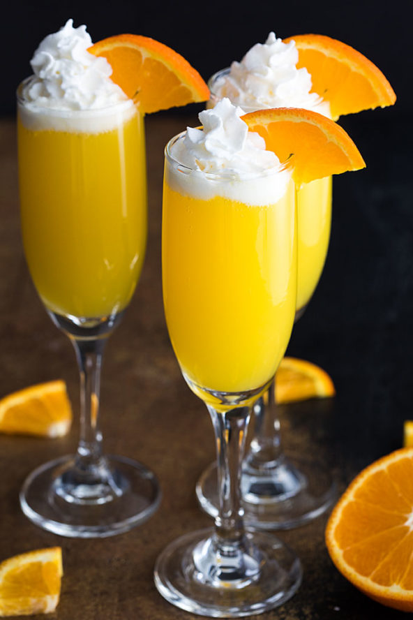 Thirsty Thursday: Vodka Creamsicle Mimosas Recipe